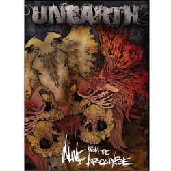 Unearth - Alive From The Apocalypse - 2DVD + CD Digipak
