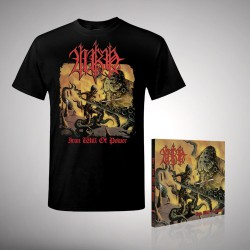 Urn - Iron Will Of Power - CD DIGIPAK + T-shirt bundle (Men)