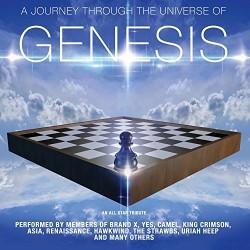 Various Artists - A Journey Through The Universe Of Genesis - CD DIGIPAK