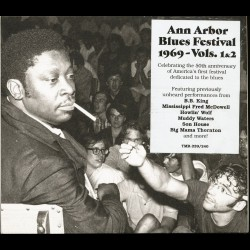 Various Artists - Ann Arbor Blues Festival 1969 - Vols. 1&2 - 2CD DIGIPAK