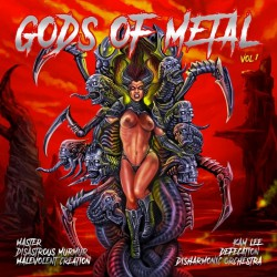 Various Artists - Gods Of Metal Volume 01 - LP COLOURED