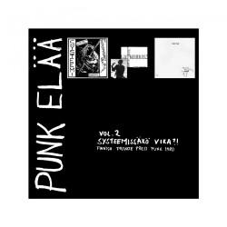 "Various Artists - Punk Elaa Vol 2: Systeemissako Vika?! - 7"" EP BOX"
