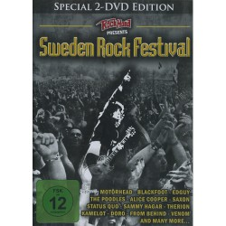 Various Artists - Sweden Rock Festival - DOUBLE DVD
