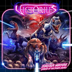Victorius - Dinosaur Warfare - Legend Of The Power Saurus - CD EP DIGIPAK
