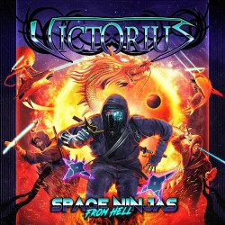 Victorius - Space Ninjas From Hell - DOUBLE LP Gatefold