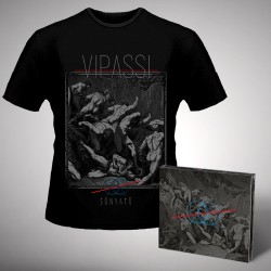 Vipassi - Sunyata - CD DIGIPAK + T-shirt bundle (Men)