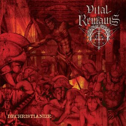 Vital Remains - Dechristianize - DOUBLE LP