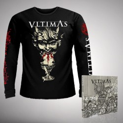 Vltimas - Bundle 2 - CD DIGIPAK + Long sleeve T-shirt bundle (Men)