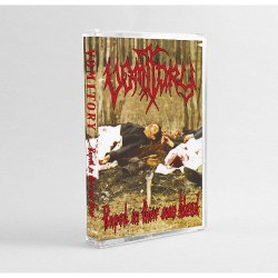 Vomitory - Raped In Their Own Blood - CASSETTE COLOURED