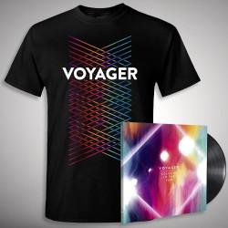Voyager - Colours In The Sun - LP gatefold + T-shirt bundle (Men)