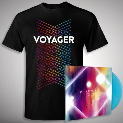 Voyager - Colours In The Sun - LP gatefold coloured + T-shirt bundle (Men)
