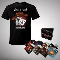 Vulcain - Bundle 3 - 8CD Box + T-Shirt Bundle (Men)