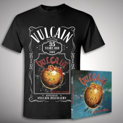 Vulcain - Rock 'N' Roll Secours - CD DIGIPAK + T-shirt bundle (Men)