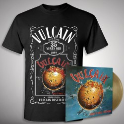 Vulcain - Rock 'N' Roll Secours - LP COLOURED + T-shirt bundle (Men)