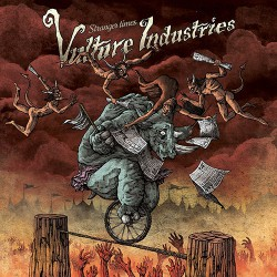 Vulture Industries - Stranger Times - CD DIGIPAK + Digital