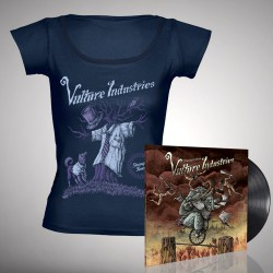 Vulture Industries - Stranger Times - LP gatefold + T-shirt bundle (Women)