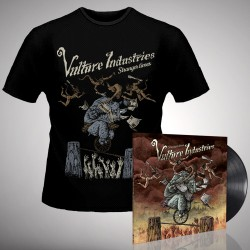 Vulture Industries - Stranger Times - LP gatefold + T-shirt bundle (Men)