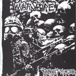 "Warsore / Egrogsid - Rampant Murder / Sdnabylgu - 7"" vinyl"