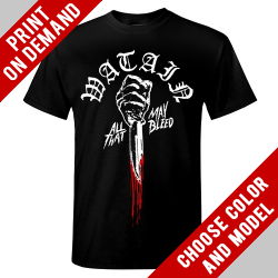 Watain - All That May Bleed - Print on demand