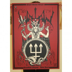 Watain - Part 1 Of 10 Of The Watain Poster Series - Screen print