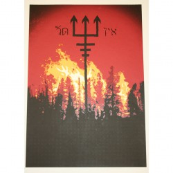 Watain - Part 3 Of 10 Of The Watain Poster Series - Screen print