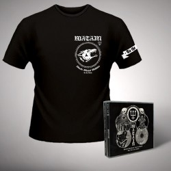 Watain - Satanic Deathnoise From The Beyond - The First Four Albums - CD BOX + T-SHIRT (Men)