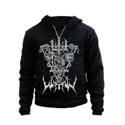 Watain - Snakes and Wolves - Hooded Sweat Shirt Zip (Men)