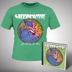 Weedeater - Justice Green - CD + T-shirt bundle (Men)