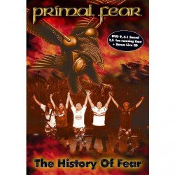 Primal Fear - The History Of Fear - DVD + CD