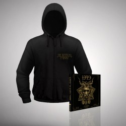 1349 - Bundle 3 - CD Digipak + Hooded Sweat Shirt Zip (Homme)