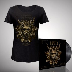 1349 - Bundle 8 - Double LP gatefold + T-shirt bundle (Femme)