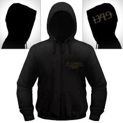 1349 - The Infernal Pathway - Hooded Sweat Shirt Zip (Homme)