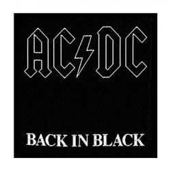 AC/DC - Back In Black - Patch