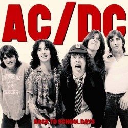 AC/DC - Back To School Days - DOUBLE LP GATEFOLD COLOURED