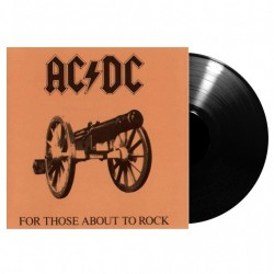 AC/DC - For Those About To Rock - LP Gatefold