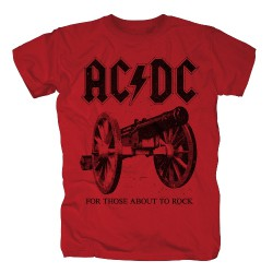 AC/DC - For Those About To Rock - T-shirt (Homme)