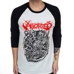 Aborted - Hell Raiser - Baseball Shirt 3/4 Sleeve (Homme)