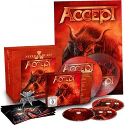 "Accept - Blind Rage - CD + Blu-ray + DVD + 7"" box"