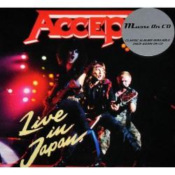 Accept - Live In Japan - CD SUPER JEWEL