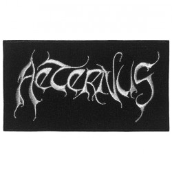 Aeternus - Logo - EMBROIDERED PATCH