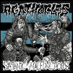 Agathocles - Satanic Malfunctions - Split - CD