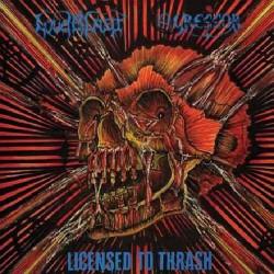Agressor - Loudblast - Licensed To Thrash - LP COLOURED