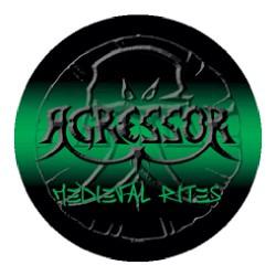 Agressor - Medieval Rites - Button