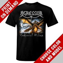 Agressor - Medieval Rites - Print on demand