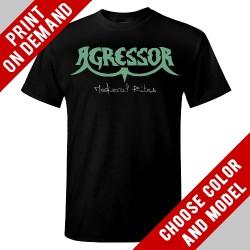 Agressor - Medieval Rites (logo) - Print on demand