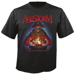 Alestorm - Curse Of The Crystal Coconut - T-shirt (Homme)