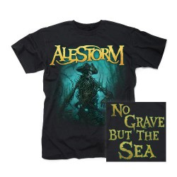 Alestorm - No Grave But The Sea - T-shirt (Men)