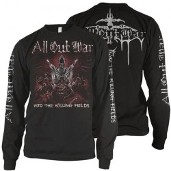 All Out War - Into the Killing Fields - LONG SLEEVE (Homme)