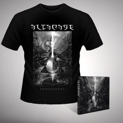 Altarage - Endinghent - CD DIGIPAK + T-shirt bundle (Homme)