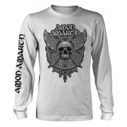 Amon Amarth - Grey Skull - Long Sleeve (Homme)